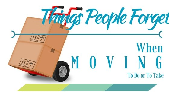 10 things you might forget moving