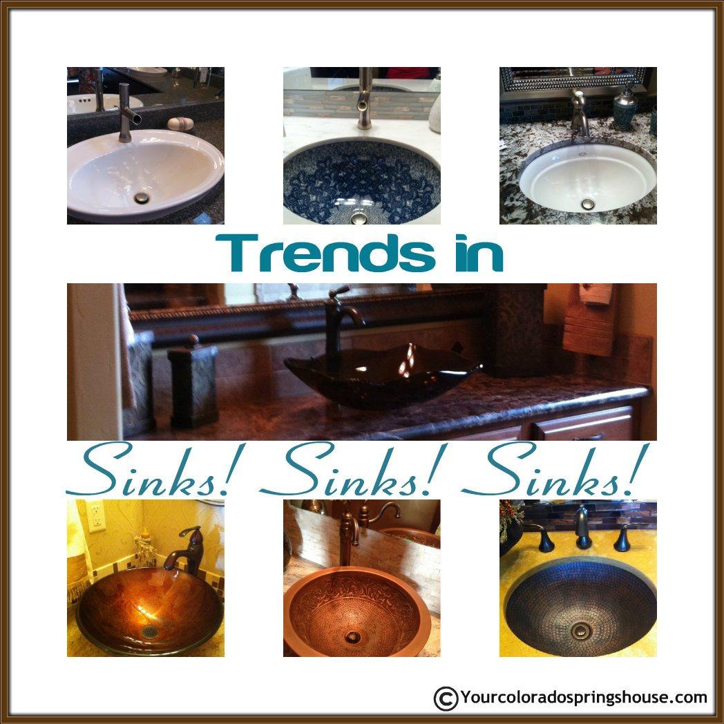 Parade of homes bathroom sink trends 2013 colorado for Bathroom sink trends