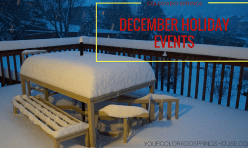 Colorado Springs – Holiday Events by Date