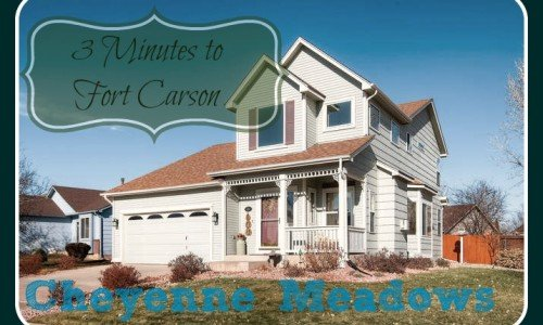 Home for sale outside ft.carson