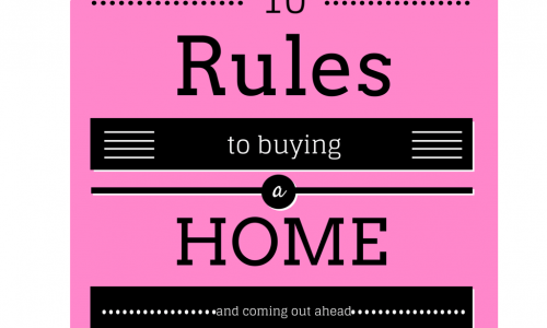 10 rules buying a home