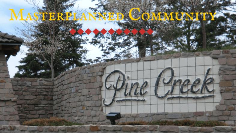 Masterplanned Community Pine Creek in Colorado Springs.