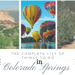 Things To Do In [and around] Colorado Springs