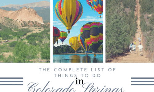 The complete list of things to do in Colorado Springs