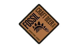 Fossil, Craft Beer company logo