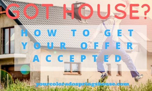 How To Get An Offer Accepted In A Hot Sellers Market