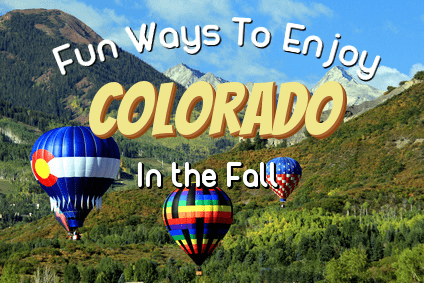8 Ways To Enjoy Colorado's Fall Colors in 2016