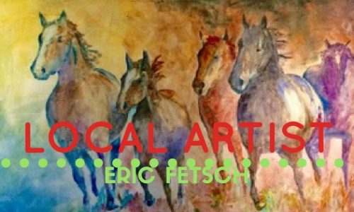 Local Artist In Watercolor: Eric Fetsch