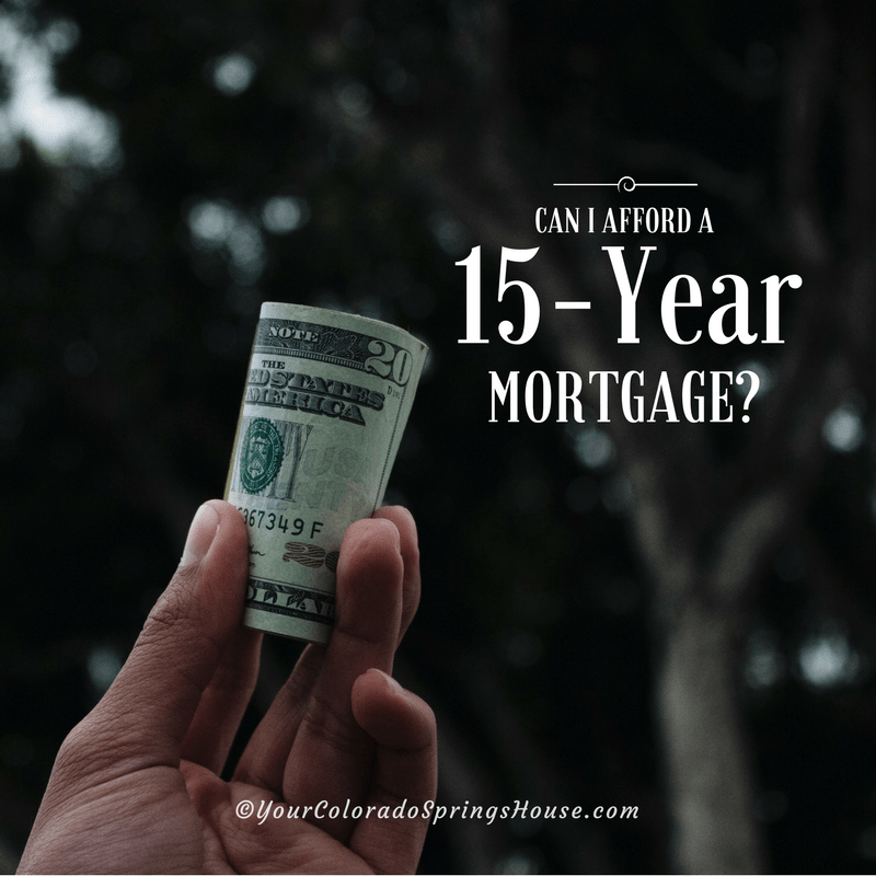 affordable 15 year mortgage