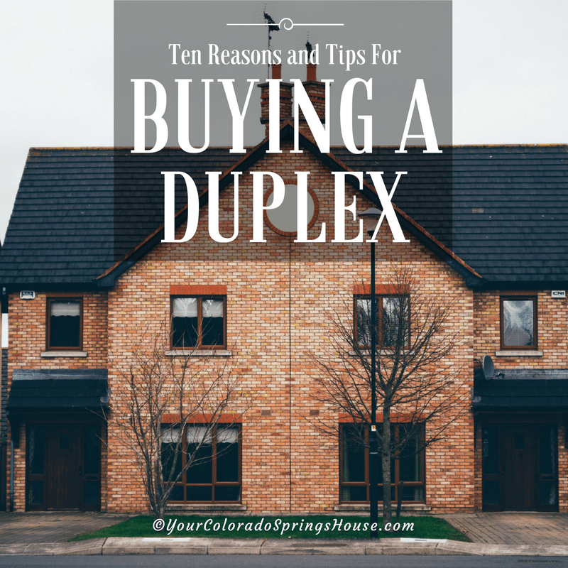 Ten reasons and tips for buying a duplex