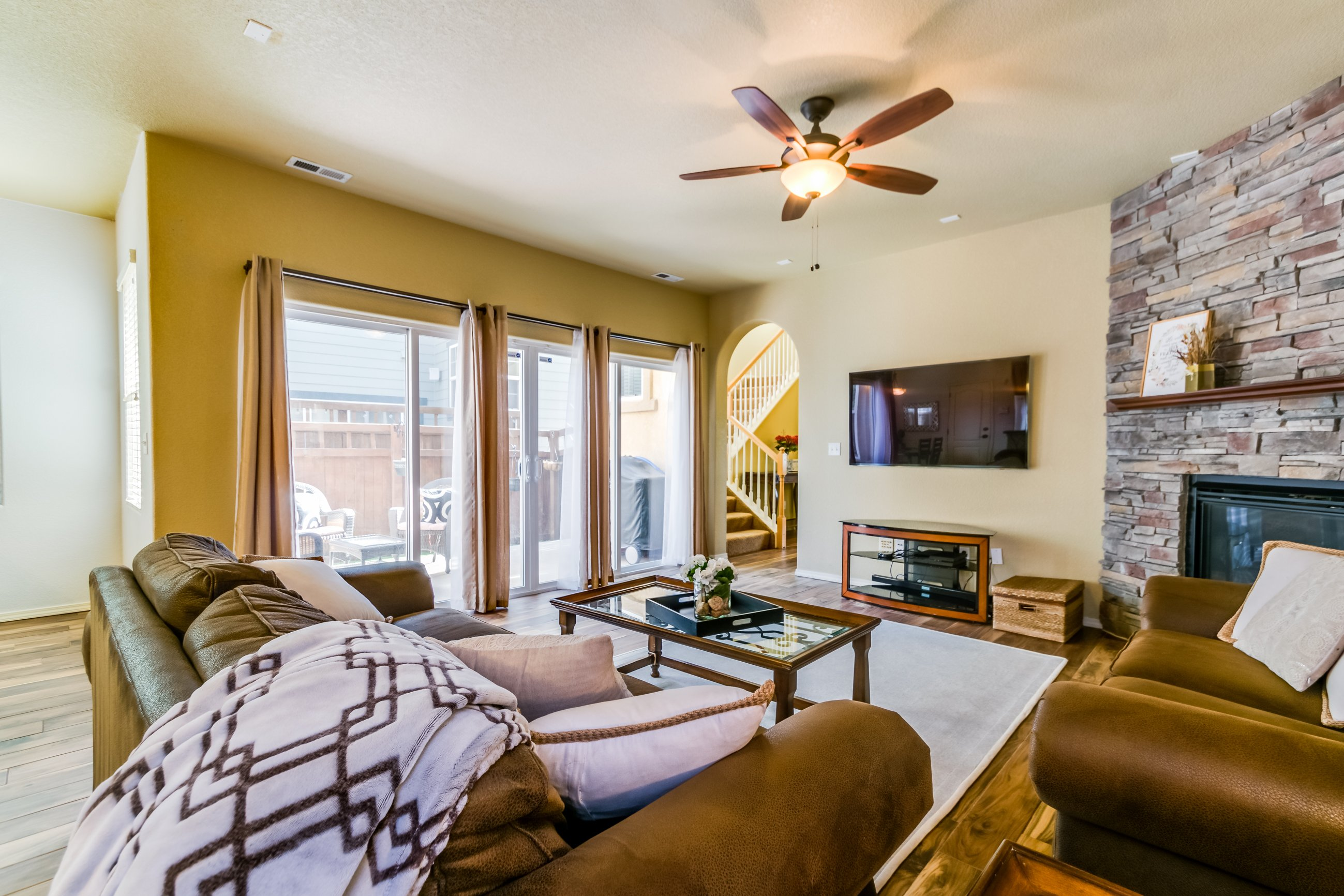Gold Hill Mesa condo for sale, picture of living room