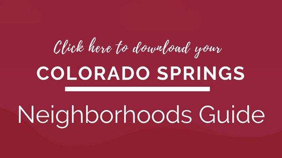 CTA for Colorado Springs Neighborhoods Guide Download