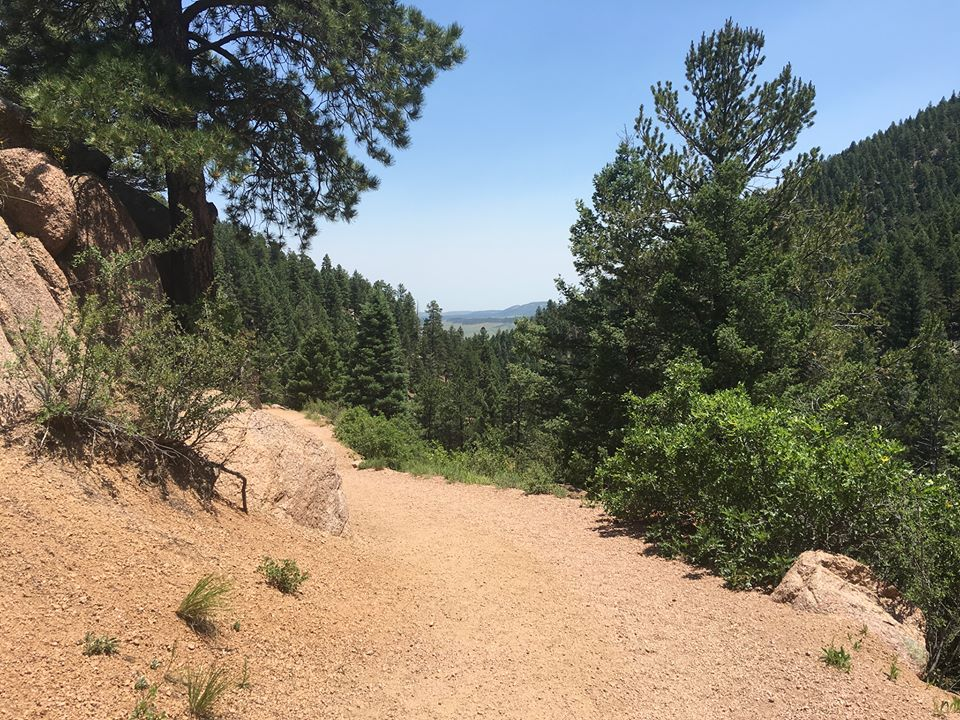 Reservoir Trail in Colorado Springs