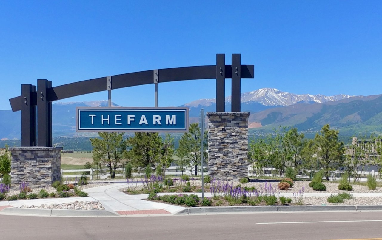 The Farm, a new master planned community in north Colorado Springs