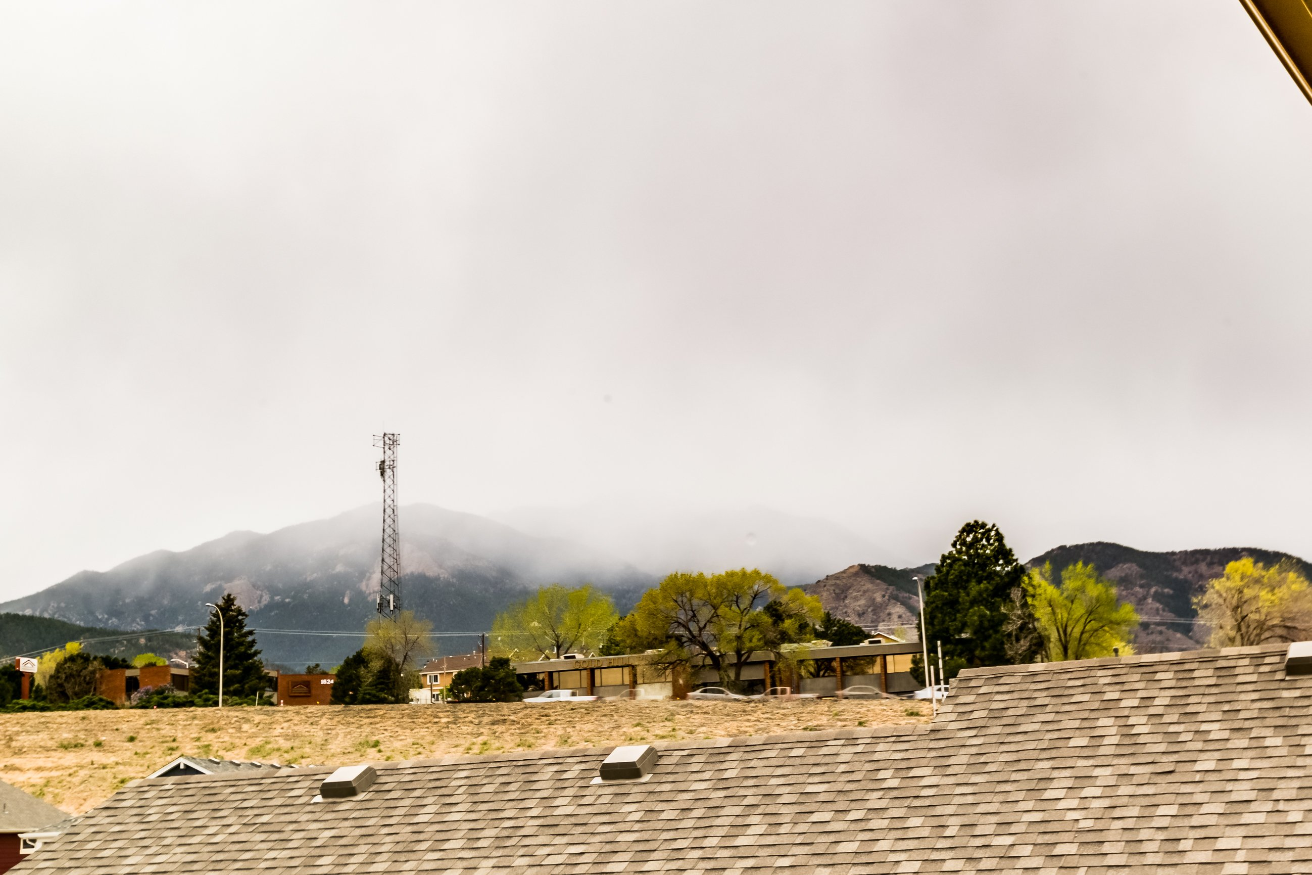 Picture of Pikes Peak as seen from 166 Autumn Bell