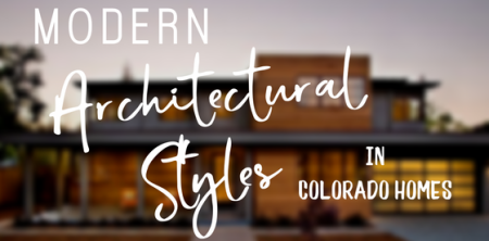 Modern architectural styles in colorado homes colorado for Modern homes colorado springs