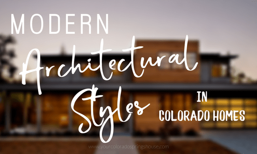 Modern architectural styles in Colorado homes