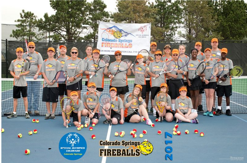 Special Olympics Colorado Springs Tennis