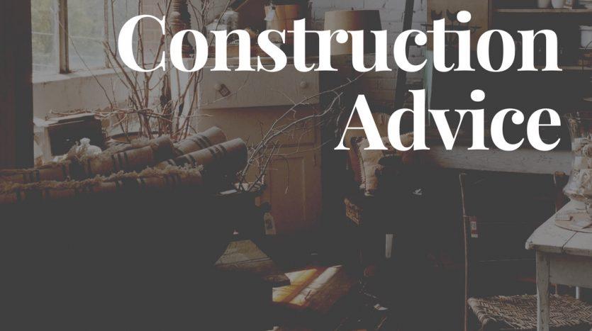 New Construction Advice