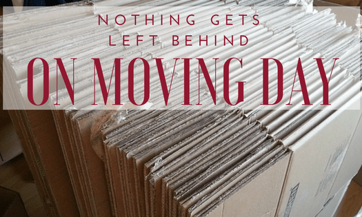 Nothing Gets Left Behind on Moving Day