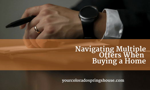 Navigating multiple offers when buying a home