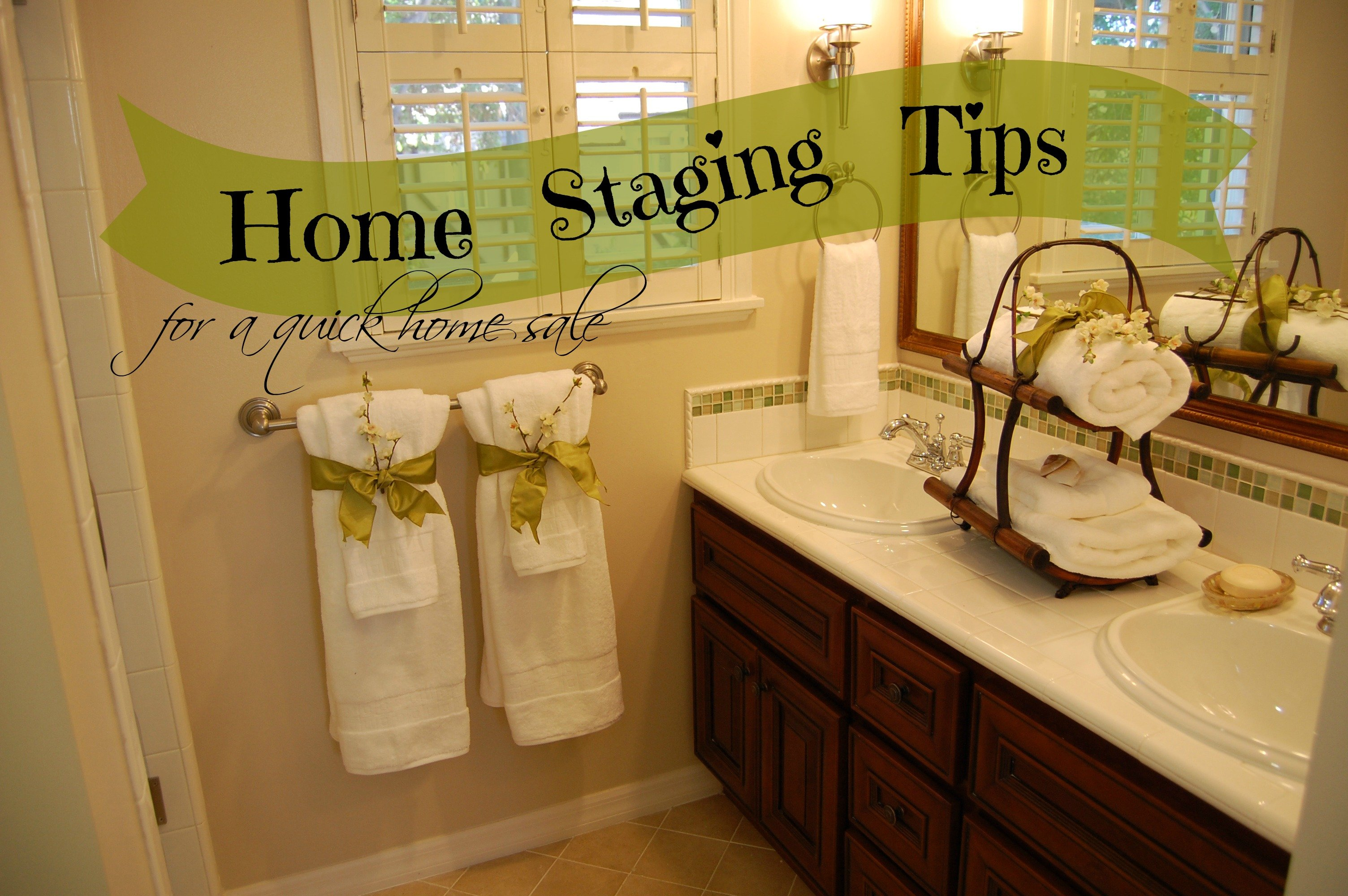 Home Decor For Sale: Home Staging Tips For A Quick Home Sale