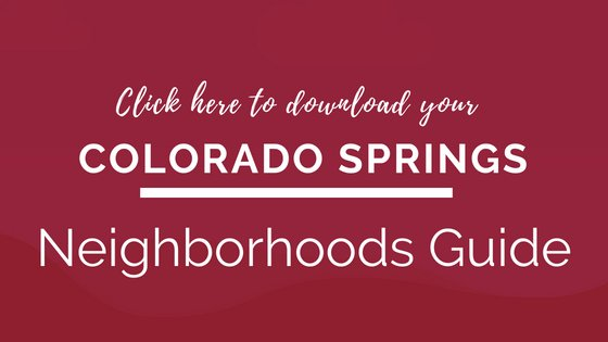 CTA for Colorado Springs Neighborhoods Guide Download