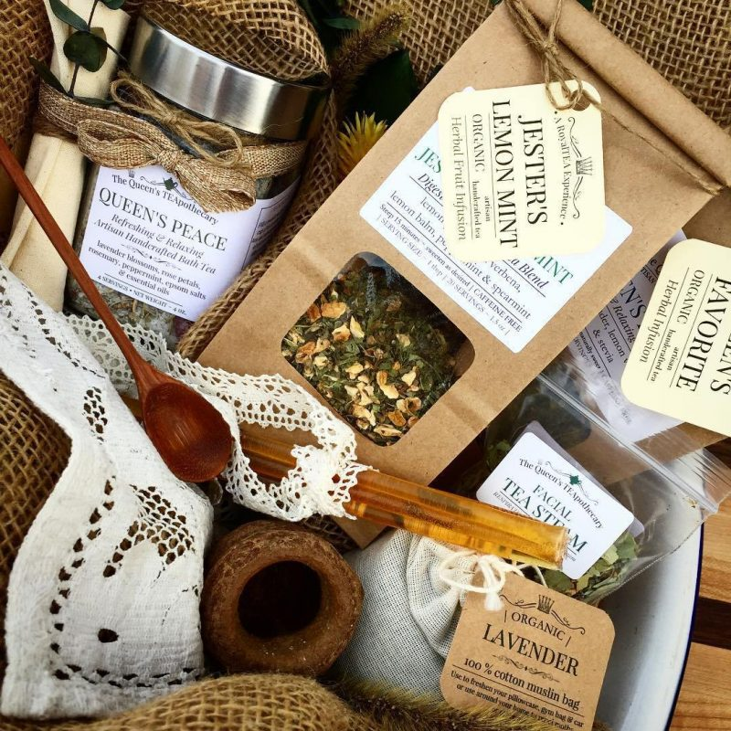 queens teapothecary colorado gifts
