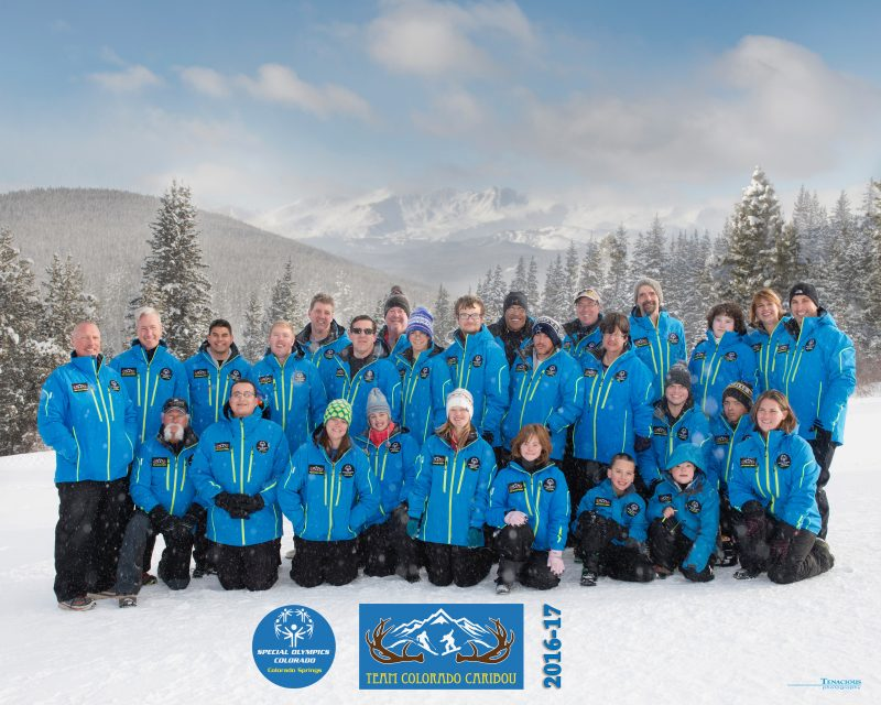 Special Olympics Colorado Springs Ski Team