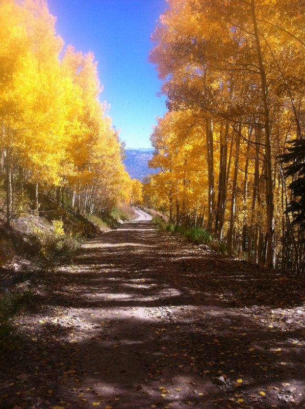 Snowmass in fall