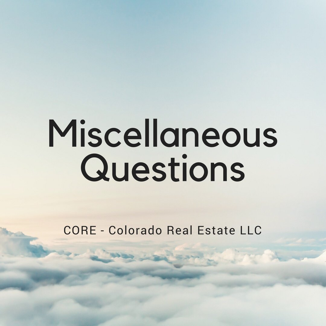 Miscellaneous Questions - blue clouds sky
