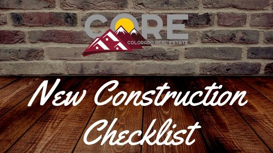 New Construction Checklist Image